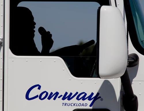 truck driver silhouette